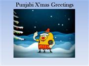 Punjabi X mas Greetings