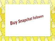 Get Real Snapchat Followers - Drastically Increase your Snapchat Popul