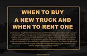 Factors to understand merits of renting and buying forklifts
