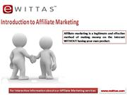 Affiliate Marketing Program by eWittas