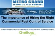 The Importance of Hiring the Right Commercial Pest Control Service