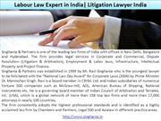 Labour Law Expert in India Litigation Lawyer India