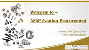 ASAP Aviation Procurement – NSN Components, Aviation Parts Distributor