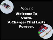Welcome To Volta A Charger