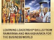 Learning leadership skills from RamayanA
