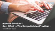 Infoware -Solutions Cost Effective Web Design Solution Providers