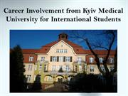 Learning Medical Courses from Kyiv medical University, Ukraine