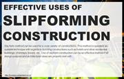 Factors that provide effective use of slip-forming