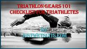 Triathlon Gear 101 – Checklist for Triathletes