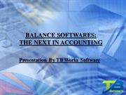 Balance Softwares The Next In Accounting