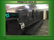 Importer Printing Machines in Delhi