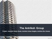 Antriksh Urban Greek  : ne of the luxurious project of L zone dwarka