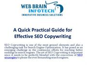 A Quick Practical Guide for Effective SEO Copywriting