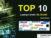 List of Top 10 Laptops Under Rs.30000 in India – 2016 (December)