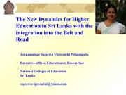 Higher Education in SRI LANKA