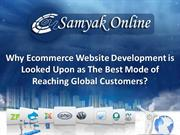 Why Ecommerce Website Development is