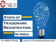 3 easy Steps of Trademark Registration in India