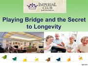 Playing Bridge and the Secret to Longevity