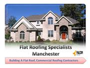 Reliable Commercial Flat Roof Construction And Repairing Services