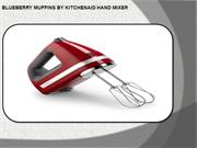 Recipes By Hand mixer