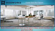 Shared Office Space Denver Design