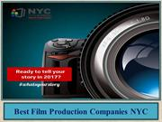 Best Film Production Companies NYC