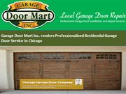 Garage Door Mart Inc. renders Professionalized Residential Garage Door