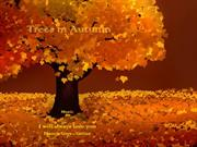 1-Nov 22-Autumn Trees-I will always love you-Francis Goya-guitar