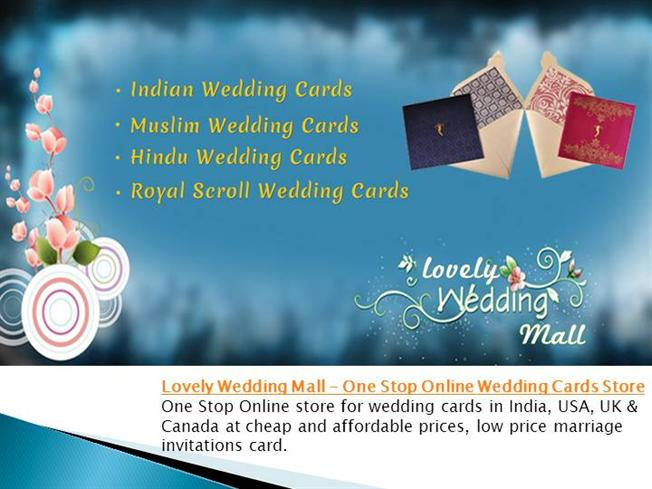 Lovely Wedding Mall One Stop Online Wedding Cards Store