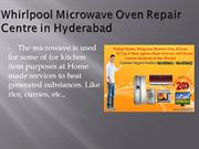 Whirlpool Microwave Oven Repair Centre in Hyderabad