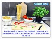 Top Emerging Countries in Meat Industry are expected to reach a value