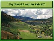 Top Rated Land for Sale SC