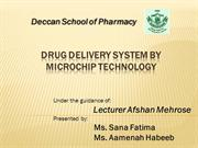 microchip for drug delivery