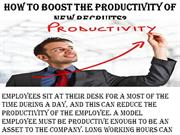 William Almonte Mahwah-How to boost the productivity of new recruits