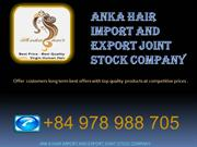 100% Virgin Human Hair Extension Vietnam