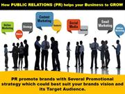 How PR will help your Brand to Grow-PR Agency