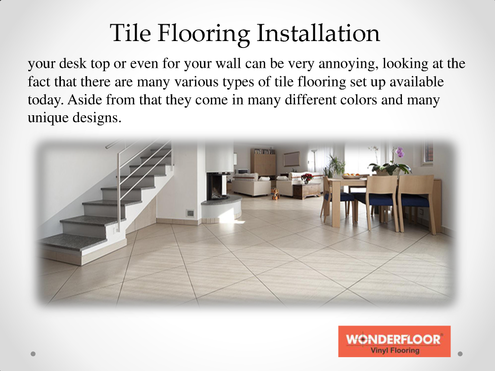 Various Styles Of Tile Flooring In India Authorstream