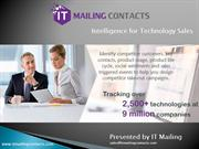 IT Mailing Contacts
