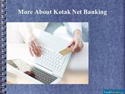 How Do You Register For Kotak Mahindra Bank Internet Banking?