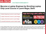 Become a Laptop Engineer by Enrolling Laptop Chip Level Course in Laxm