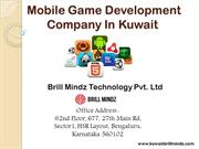 Mobile Game Development Kuwait