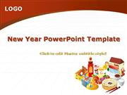 New Year PowerPoint Template