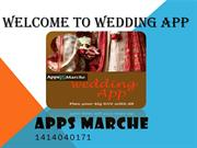 Best Wedding Apps | Wedding Application | Mobile App Creator