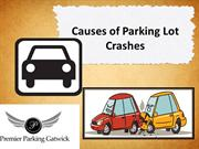 Causes of Parking Lot Crashes