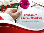 Redback's 12 Days of Christmas: Giving to Those in Need