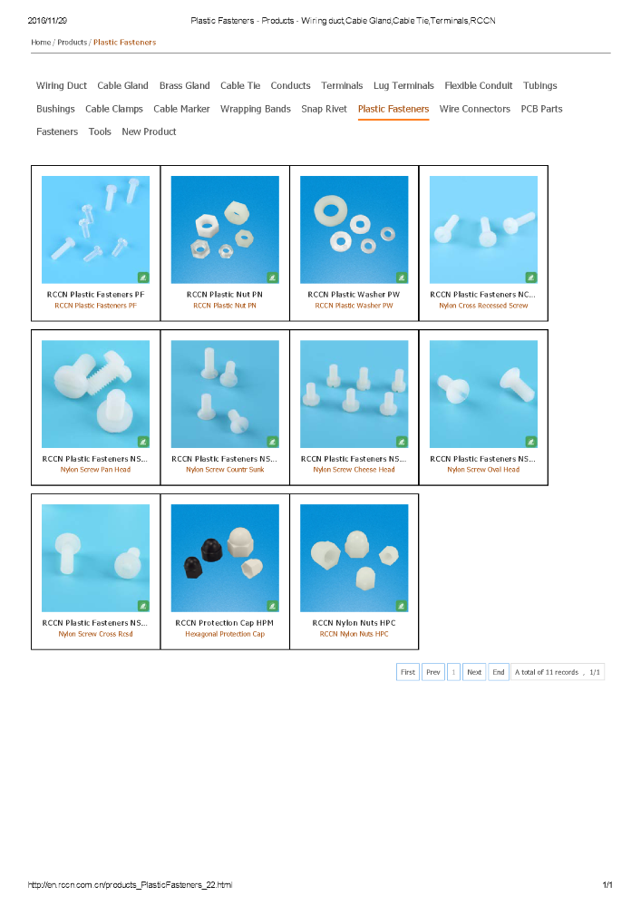 Plastic Fasteners - Products - Wiring Duct,Cable Gland,Cable Tie,T ...