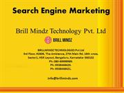 Search Engine Marketing In Bangalore