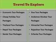 Go for Holidays with our Amazing Andaman Nicobar Tour Packages