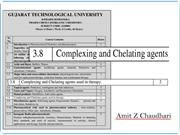 Complaxing and chelating agents_Pharmaceutical Inorganic Chemistry _ B
