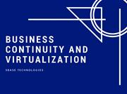 Business Continuity and Virtualization
